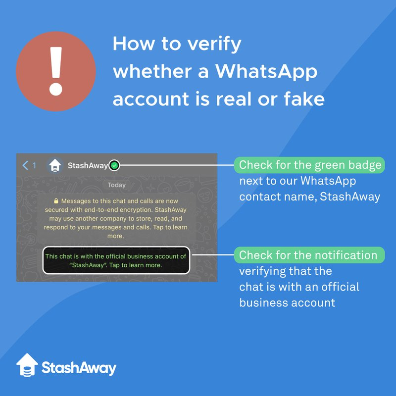 How to check if an account on WhatsApp is verified
