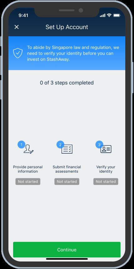 StashAway app